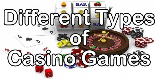 Different Forms Of Gambling
